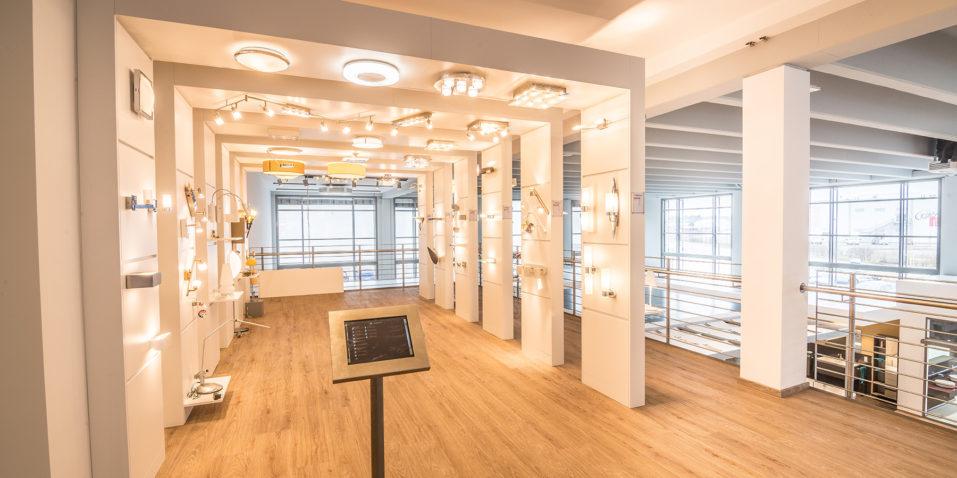 Unsere Licht-Ausstellung.
