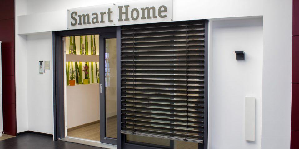 Das smarte Zuhause in unserer Ausstellung