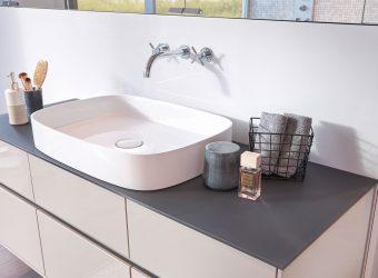 Waschbecken im Detail
